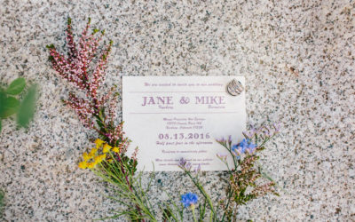 Jane and Mike's Whispy Wildflower Wedding