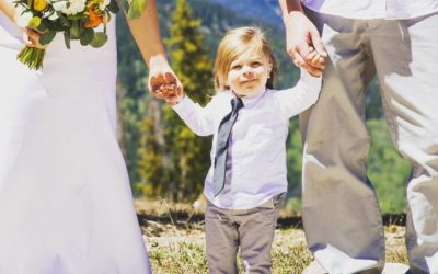 Andy and Chelsey's Rustic, Simple, Outdoor Ceremony at Copper Mountain